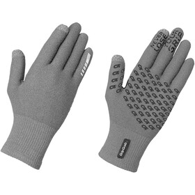 GripGrab Primavera II Guanti in lana merino, grigio